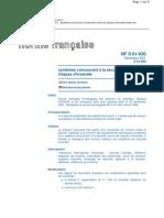 NF S61-930 (décembre 2001)