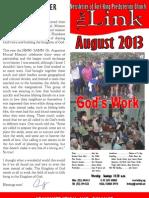 August 2013 LINK Newsletter