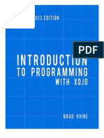 Introduction to Programming With Xojo