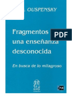 Fragmentos de una enseñanza desconocida de P. D. Ouspensky v1.0