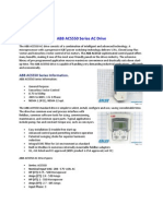 ABB ACS550 Series AC Drive - Product Overview