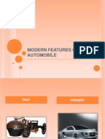 Modern Features of Automobile
