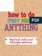 Htdjae How to Do Just About Anything