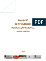72490118-AVALIACAO-DE-INTERVENCOES-DE-EDUCACAO-PARENTAL-Relatorio-2007‐2010