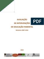 72490118-AVALIACAO-DE-INTERVENCOES-DE-EDUCACAO-PARENTAL-Relatorio-2007‐2010