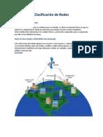 Clasificacion y Cobertura de Redes de Redes Oscar Maury y Jose Morales