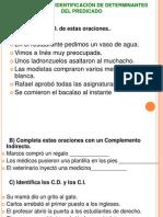 APLICACIÓN DE DETERMINANTES DEL PREDICADO