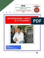 Defectología de La Soldadura