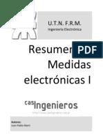 Resumen de Medidas electrónicas I (Incompleto)