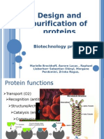 Design and Purification of Proteins