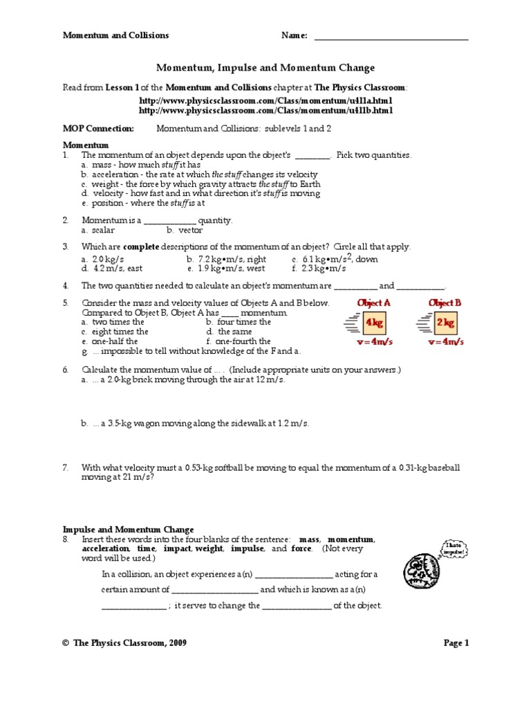 newton s second law worksheet the physics classroom answers breadandhearth. Black Bedroom Furniture Sets. Home Design Ideas