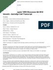 Q4 2012 HDSN Earnings Call