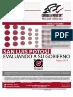 Encuesta de Consulta Mitofsky de evaluación al gobierno de Toranzo