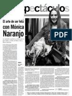 Mónica Naranjo - El Informador - 30.07.13