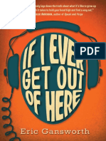 If I Ever Get Out of Here by Eric Gansworth Excerpt