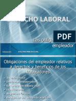 27225046 Derecho Laboral Obligaciones Del Empleador