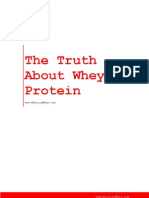 Truth About Whey Protein