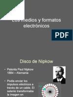 Los medios y formatos electroìnicos