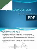 91633007 Gyroscopic Effects