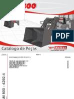 Catálogo de Peças PAM 800 MF 4292 4