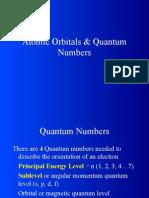 Atomic Orbitals Quantum Numberspre-AP