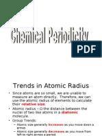 Chemical Periodicitypre-AP 08