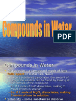 Compounds in Water 07