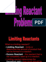 Limiting Reactantpreap