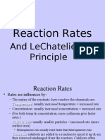 Reaction Rates Lech Atelier