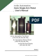 Brooks Automation ABM 407b Manual