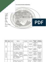 Planificaciön Curso Derecho Administrativo