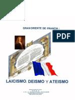 Aquilar Silva Roberto - Gran Oriente de Francia - Laicismo Deismo Y Ateismo