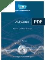 SIAE ALFOplus_User Manual Cod. MN00273E_Ediz.004 Ok