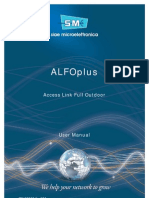 SIAE ALFOplus_User Manual Cod. MN00273E_Ediz.004 Ok