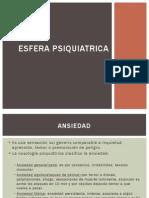 ESFERA PSIQUIATRICA