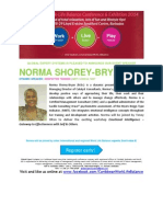 Caribbean Work Life Balance Conference & Exhibition 2014 BIO NORMA SHOREY BRYAN