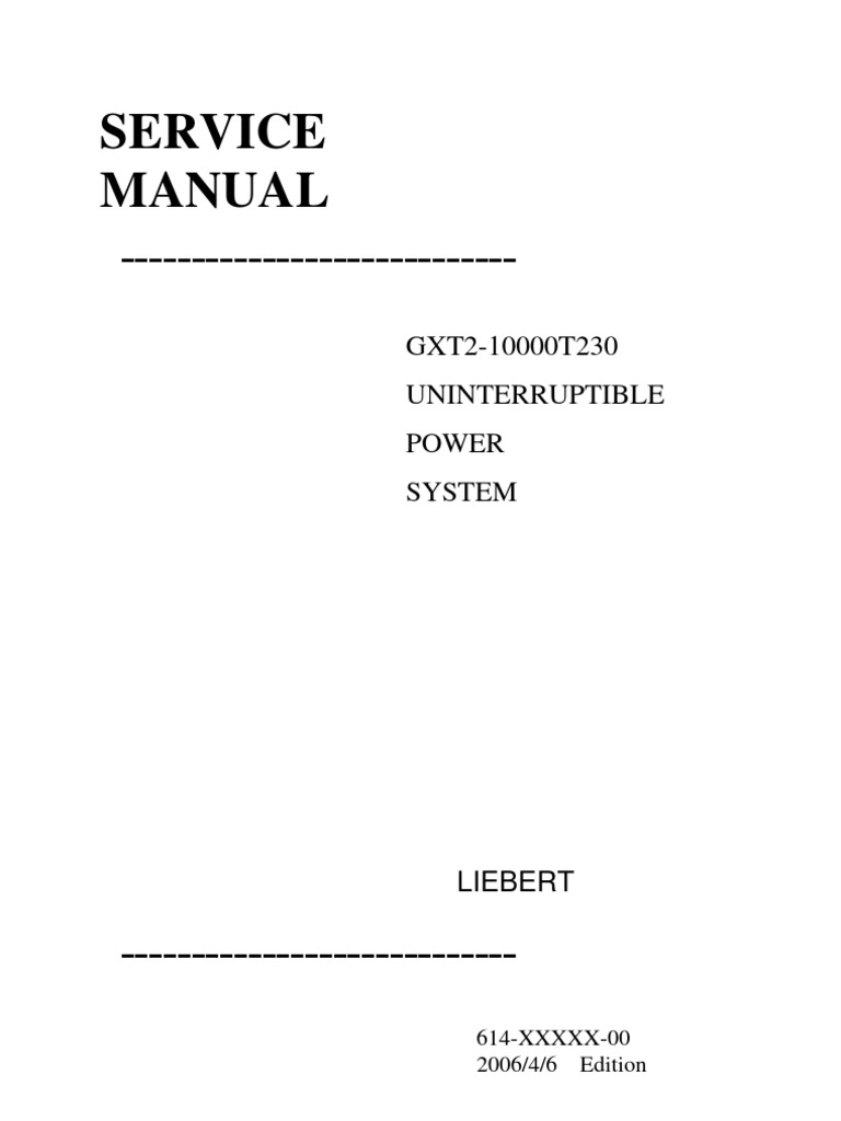 1509846694 gxt2 10000t230 service manual power inverter power supply liebert system 3 wiring diagram at readyjetset.co