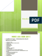 Medición pH modificada