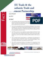 TTIP - Transatlantic Trade andI investment Partnership Fact sheet