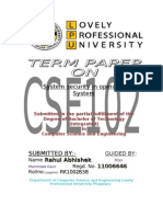 cse term paper