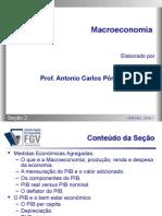 Macroeconomia - Secao 02 - Medidas Econômicas Agregadas