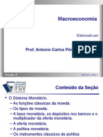 Macroeconomia - Secao 06 - O Sistema Monetário