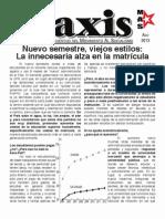 Praxis - Agosto 2013