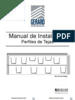Gerard Shingle Install Manual (SPANISH)