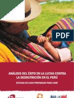 ANÁLISIS DEL ÉXITO EN LA LUCHA CONTRA LA DESNUTRICIÓN ESPAÑOL - INGLES
