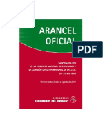 Arancel Notarial Ago2011