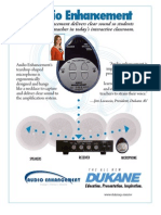 Dukane Audio Enhancement System