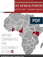 East Africa Forum Program