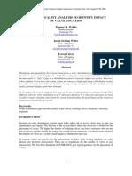 WDSA2006 Using Criticality