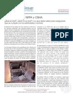 Arcos Electricos NFPA y OSHA 09 2012
